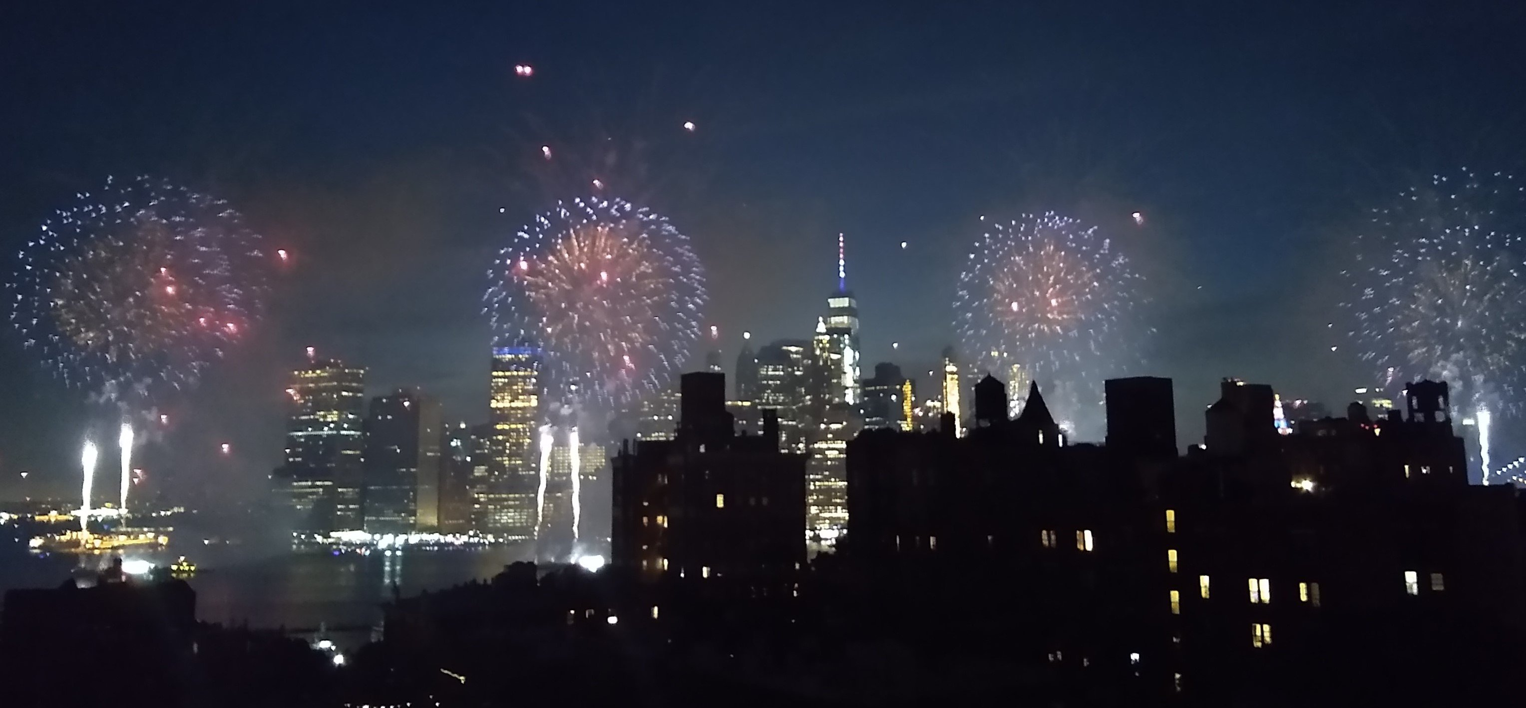 NYC July 4th Fireworks