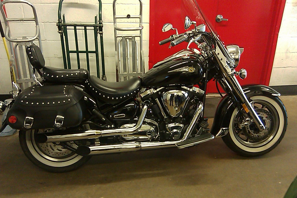 Our 2004 Yamaha Road Star Midnight Cruiser