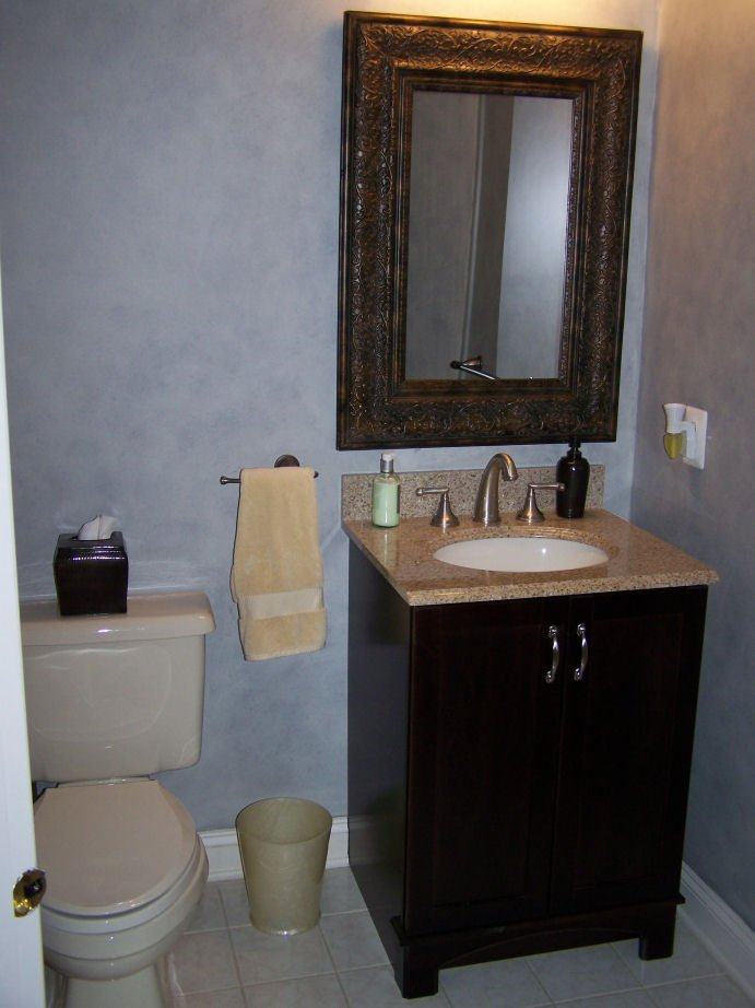 Remodeled Powder Room
